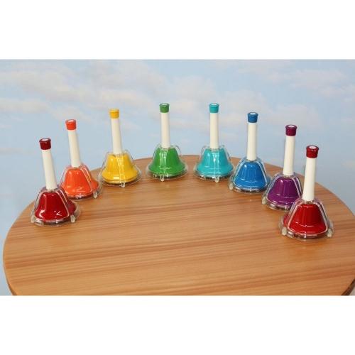 Kolorowe dzwonki muzyczne