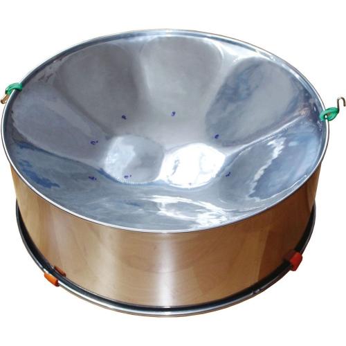 Bęben-gong z jednostronną membraną