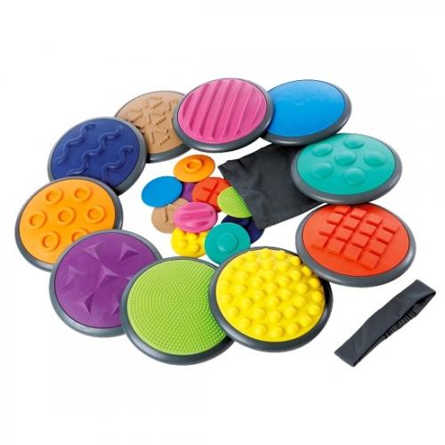 Gonge® - zestaw okrągłych tarcz dotykowych.