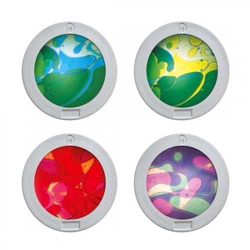 Dodatkowe kolorowe tarcze płynne do projektor Space Mathmos®