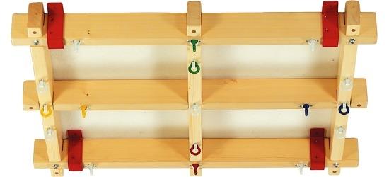 Systemowe podwieszenie sufitowe dla huśtawek Erfi® SI