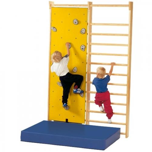 Ścianka wspinaczkowa do zawieszenia na drabince gimnastycznej