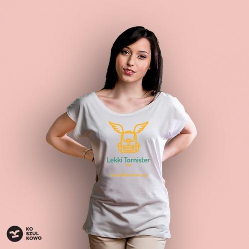 T-shirt damski Lekki Tornister