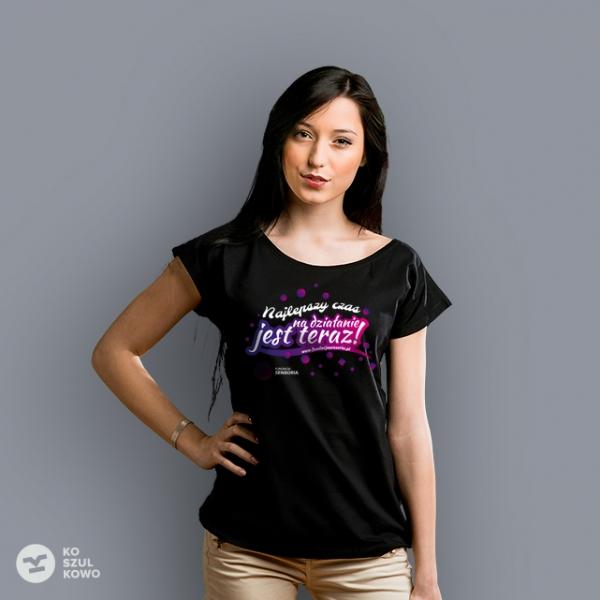 "T-shirt damski ""Sensoryczna radość"""