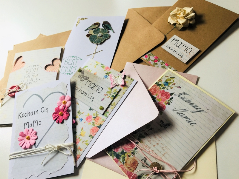 Kartki na Dzień Matki