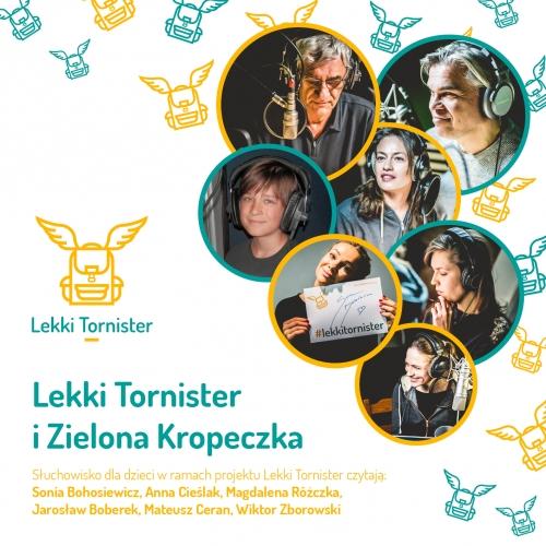 """Słuchowisko """"Lekki Tornister i Zielona Kropeczka"""" - płyta CD"""